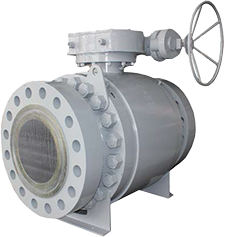 FBV trunnion ball Valve